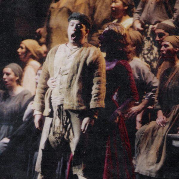 2004 Teatro Real Opera la Dolores junto a Maria Rodriguez