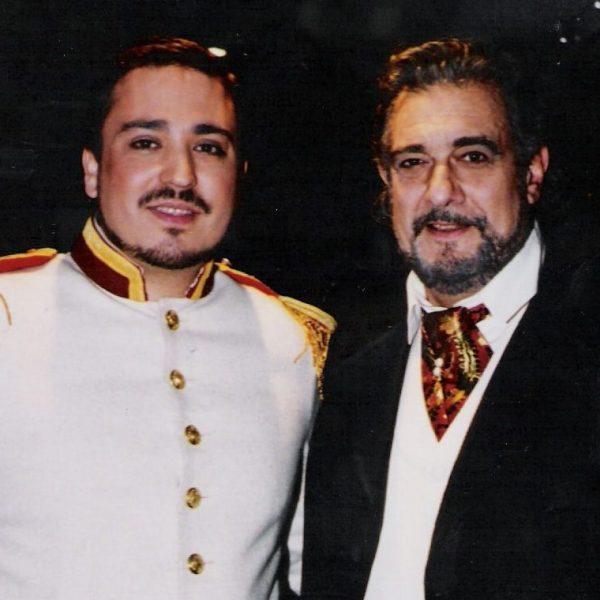 1999 Teatro Real Con Placido Domingo en Margarita la Tornera